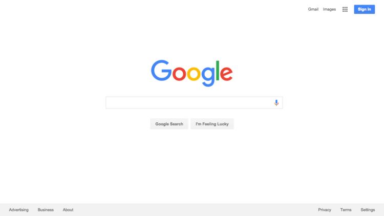 谷歌2016